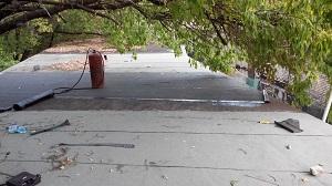 ремонт кровли гаража
